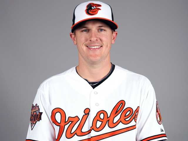 "Brad Brach (35) RHP6'6"", 215 pounds, Birthday: 4/12/86"