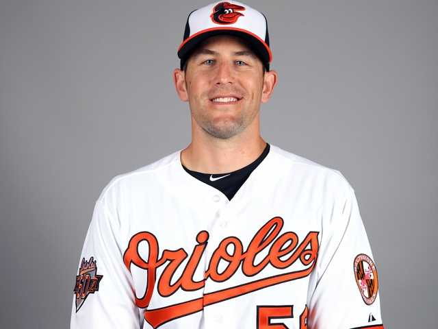 "Darren O'Day (56) RHP6'4"", 220 pounds, Birthday: 10/22/82"
