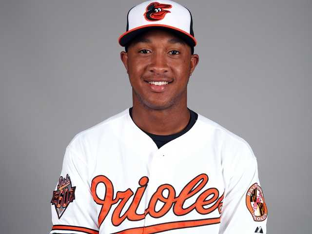 "Jonathan Schoop (6) Infielder6'2"", 210 pounds, Birthday: 10/16/91"
