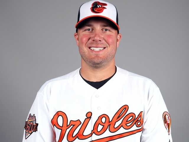 "Tommy Hunter (29) RHP6'3"", 260 pounds, Birthday: 7/3/86"