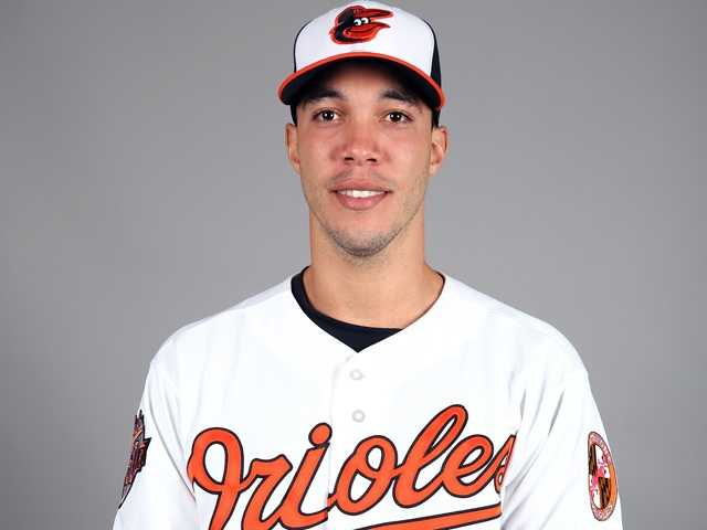 "Ubaldo Jimenez (31) RHP6'5"", 210 pounds, Birthday: 1/22/84"