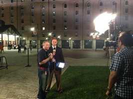 Sept. 16:Gerry Sandusky and Pete Gilbert report live on 11 News