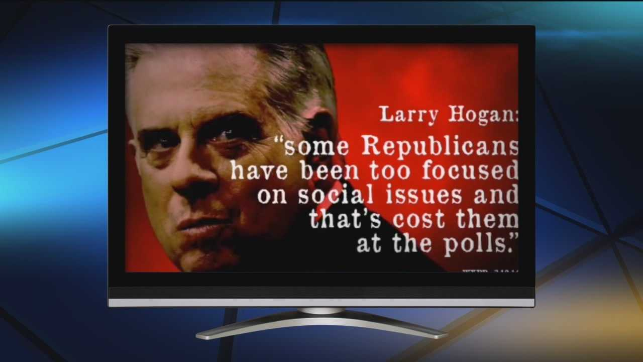 The latest TV ad calls Hogan out on his lack of details on everything from economic to social issues.