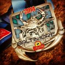 Baltimore 5k medal