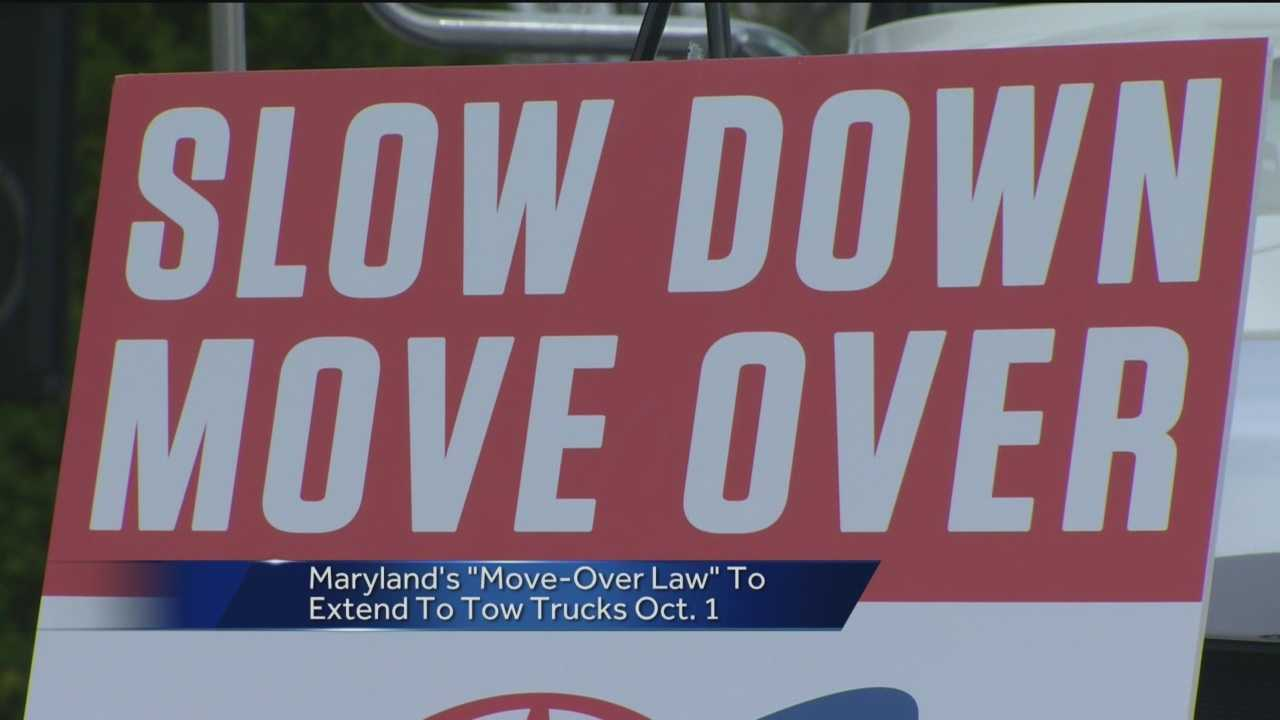 Tow truck operators will be included in the Move Over Law's expansion, which goes into effect on Oct. 1.