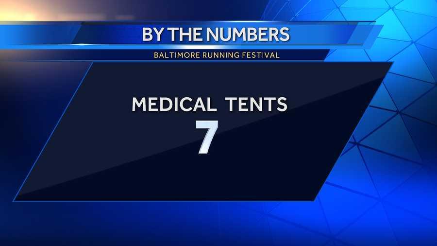 7 medical tents