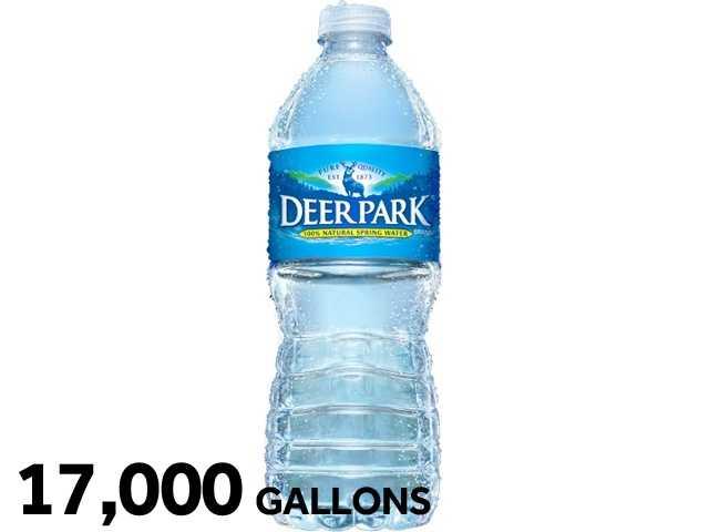 17,000 gallons ofDeer Park water