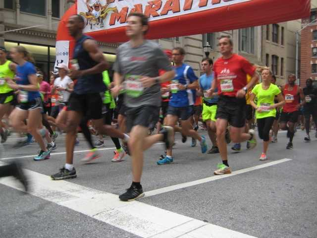 The 2014 Baltimore Running Festival takes place Oct. 18. Take a look at the event by the numbers.