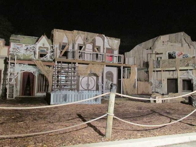 Of the 24 attractions available to patrons for Fright by Night, seven are new, including the New Orleans-inspired haunted house called Voodoo Curse, a scare zone known as Necroville and a stunt show called Blood Moon.