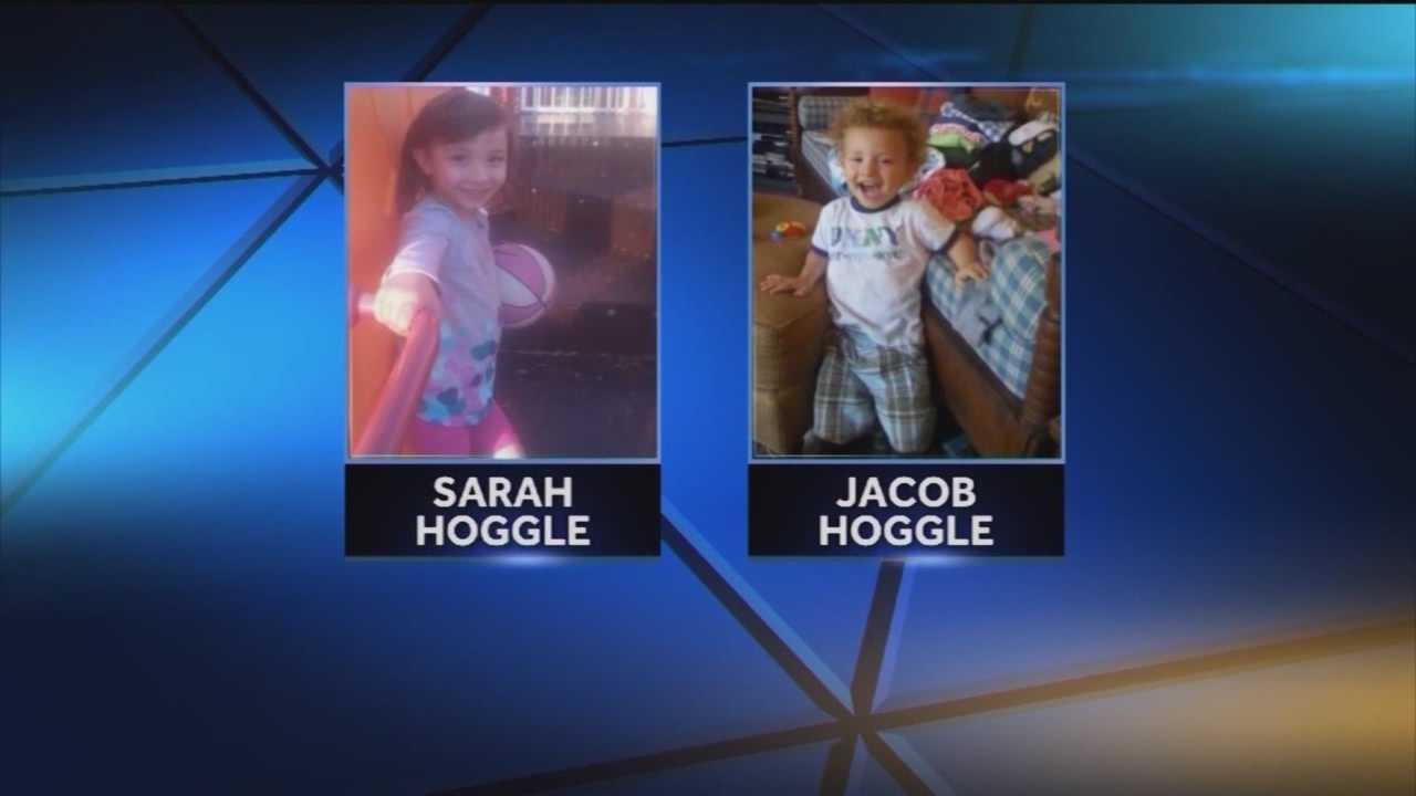 The family of Katherine Hoggle and her children are asking for the state's help in finding 3-year-old Sarah Hoggle and 2-year-old Jacob Hoggle.