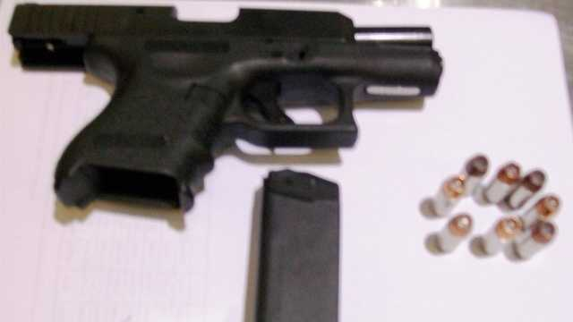 TSA officials say a man brought this loaded gun to a checkpoint at BWI.