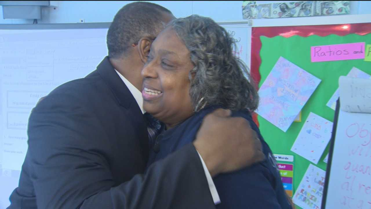Edna Greer decided to retire a month into the school year. Tuesday was her last day at Leith Walk Elementary-Middle School.