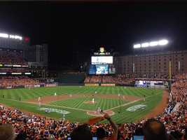 O's WIN! The Orioles beat the Tigers 12-3 in Game 1 of the ALDS
