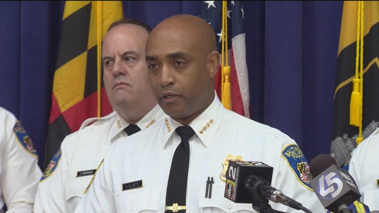 Baltimore Police Commissioner Anthony Batts is asking the Department of Justice to help review and reform the Police Department.