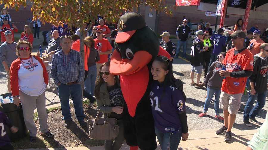 The Oriole Bird continued to help keep spirits high!