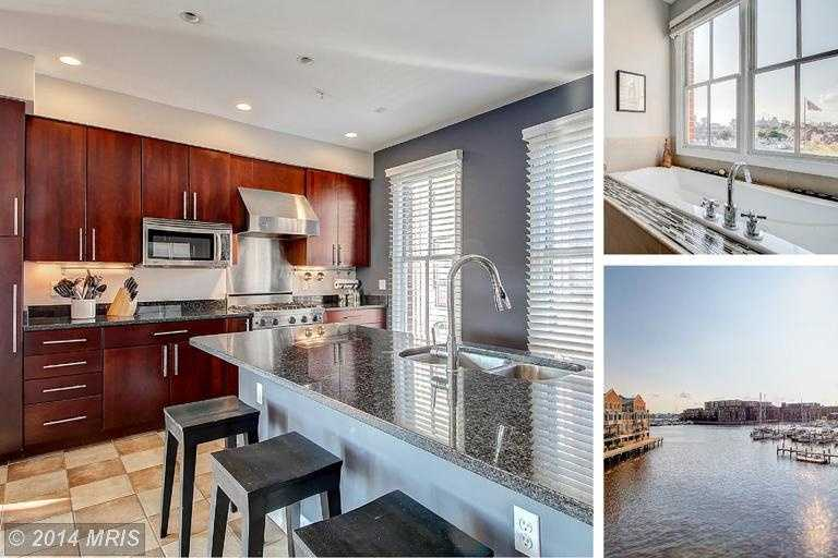 Location: 2323 Boston St, Baltimore, MDSit on your porch and enjoy beautiful water views from this North Shore townhome. The home includes three bedrooms, four bathrooms, over 2,400 sq ft of living space and is featured on realtor.com.