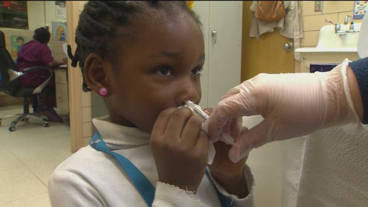 In an effort to keep kids healthy and in class, some area school and health officials are offering FluMist to students.