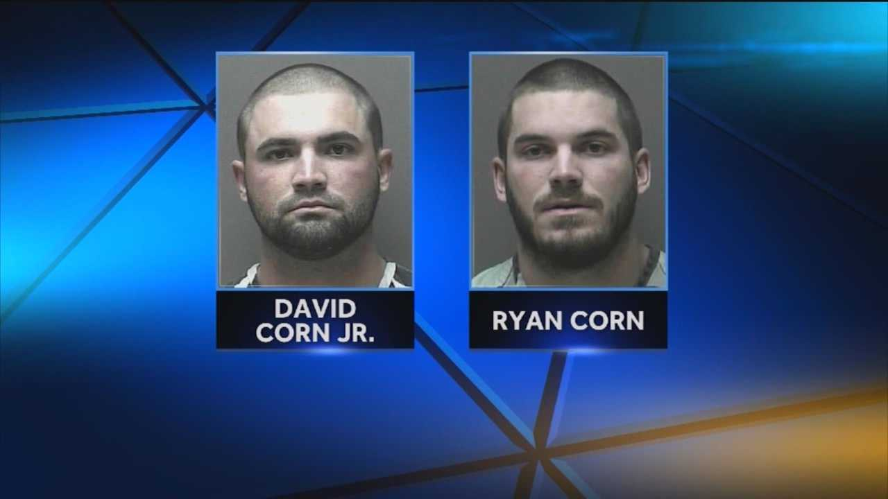 Two brothers face charges after the alleged rape of a woman at a parking garage in Bel Air.
