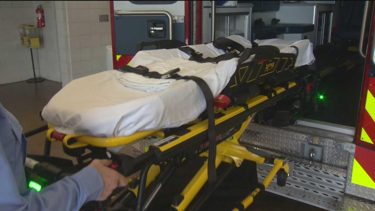 At a cost of $6.8 million, Baltimore County is getting new medic units that feature a high-tech stretcher loading system.
