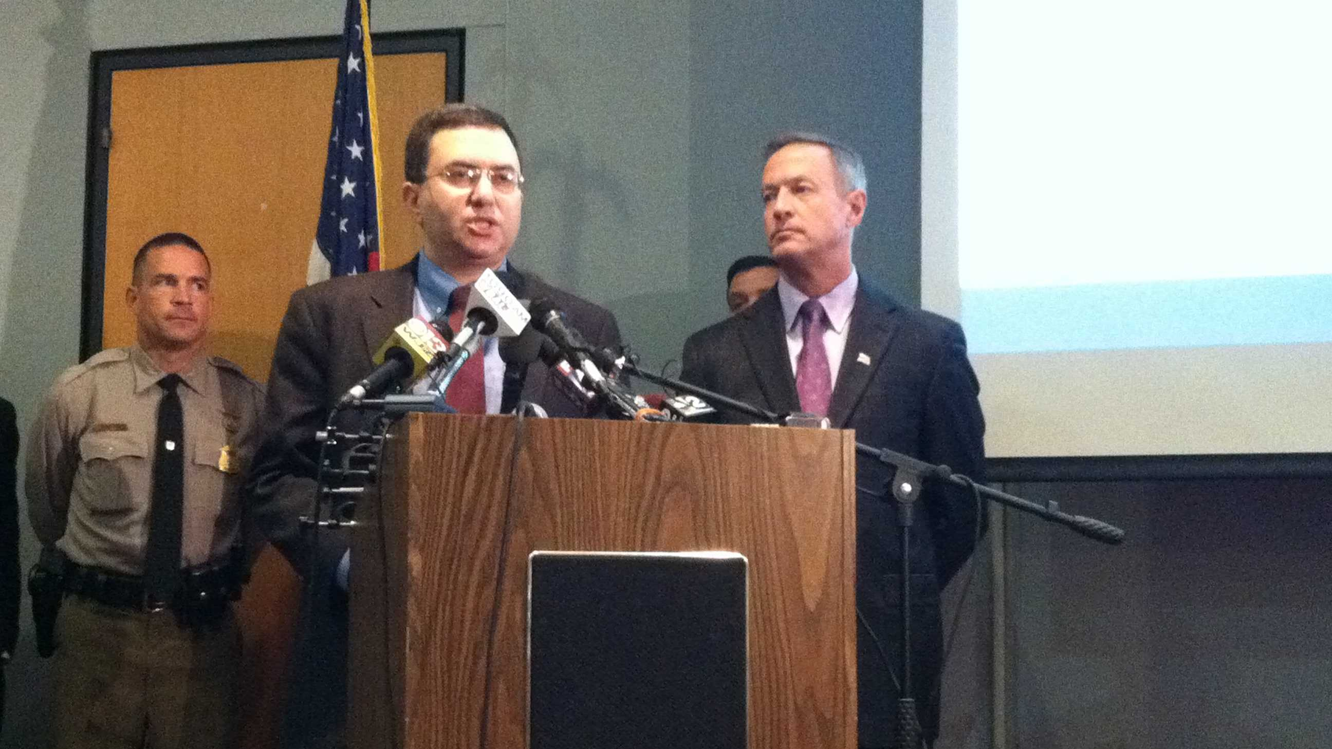 Maryland DHMH Dr. Joshua Sharfstein and Gov. Martin O'Malley give updates on Ebola preparations in Maryland.