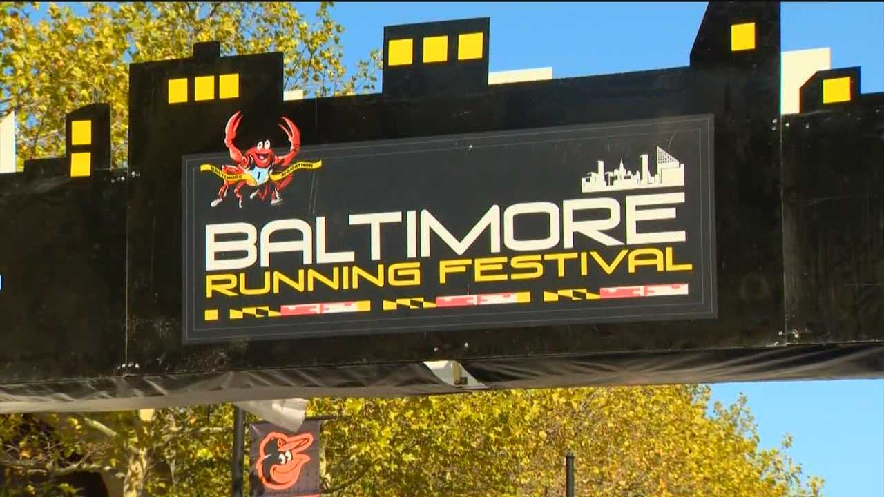 Participants of the Baltimore Running Festival are ready to run and they're already pouring into Charm City.
