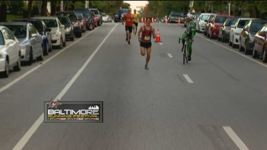 Around Mile 6, company finally arrives for Berdan, but that runner is still way behind him.