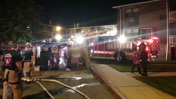 Eastport Apartment Fire