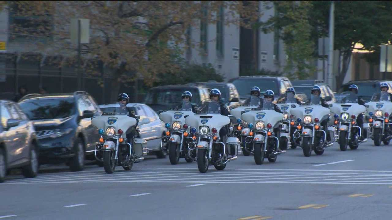 The Baltimore Police Motor Unit is 10 strong and they're part of every major event in Baltimore.