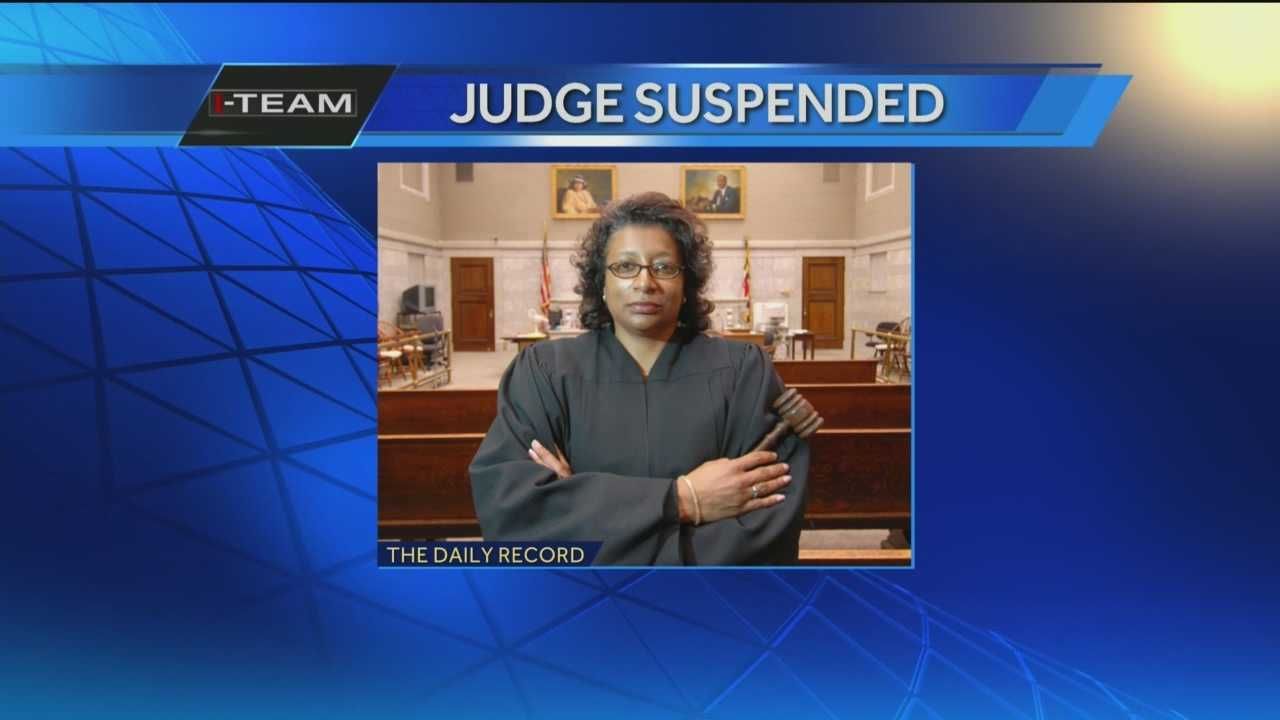 A Baltimore City Circuit judge has been temporarily suspended as a result of comments that were deemed to be demeaning and sarcastic that she made in court cases.