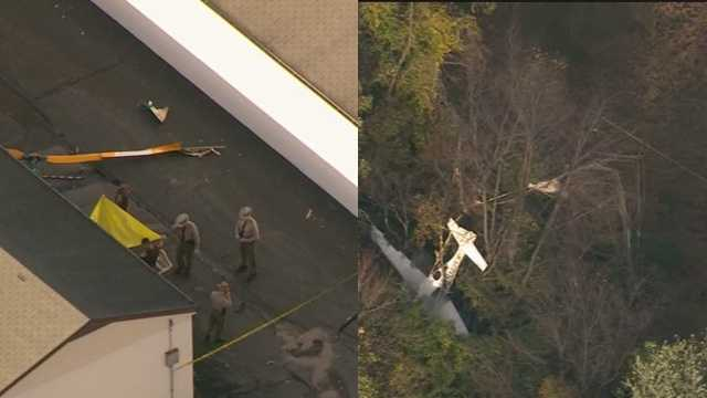 plane vs helicopter crash