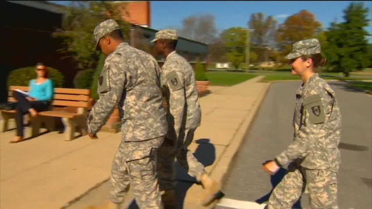 Local soldiers from Aberdeen Proving Ground are headed to the front lines in efforts to contain the Ebola virus in West Africa.
