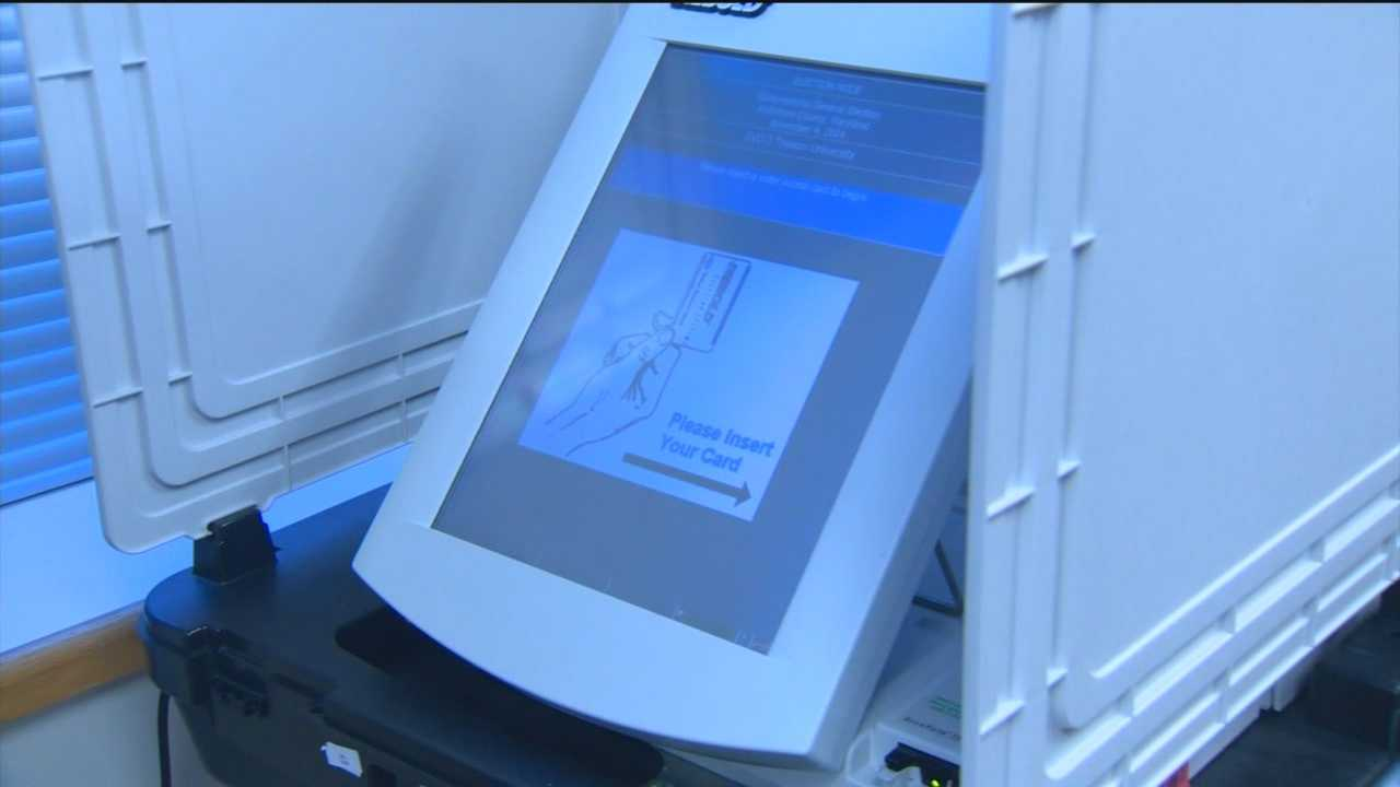Some Maryland early voters are reporting problems with machines, saying their vote was changed.