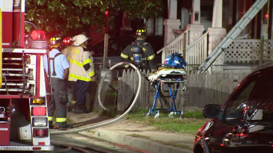 The fire started shortly before 5 a.m. in the 4400 block of Furley Avenue.