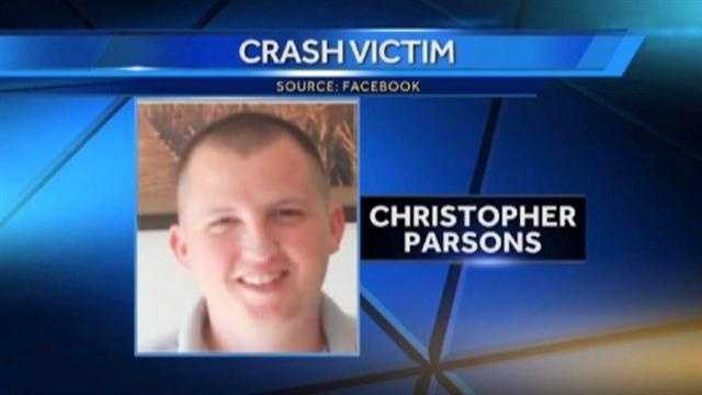 The collision killed three people in the helicopter, including, Christopher Parsons, of Westminster
