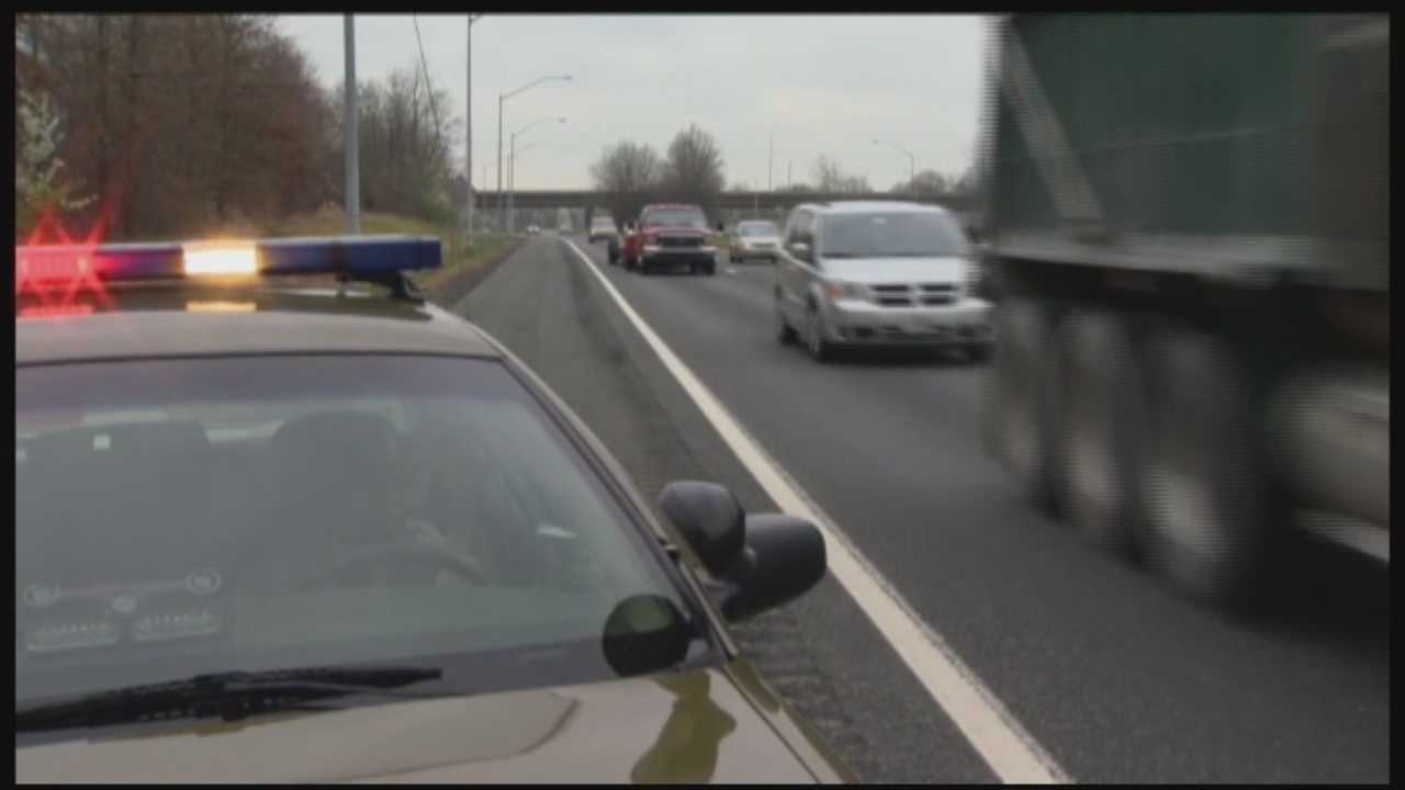 Maryland State Police Sgt. Marc Black knows first-hand the importance of the move-over law. He has been in two accidents in which his vehicle was struck.