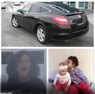 Police say they were looking for a black Honda Crosstour with Maryland license plates 9AZ6888. This is different from what was first announced.