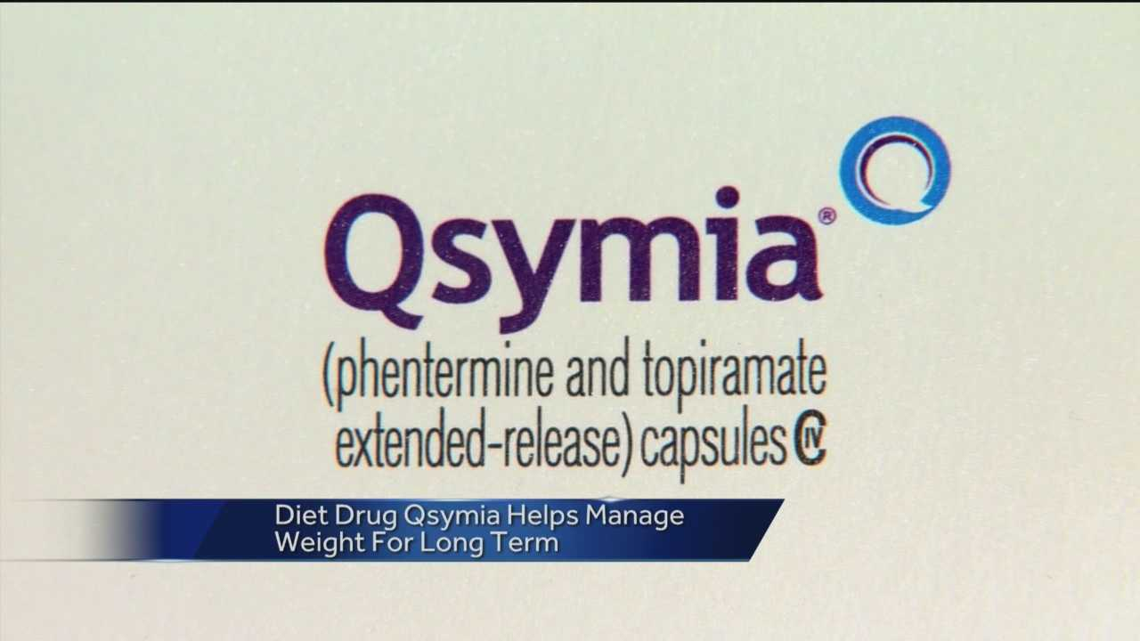 Qsymia is a combination of two drugs that are taken once a day that decrease appetite and promote weight loss.