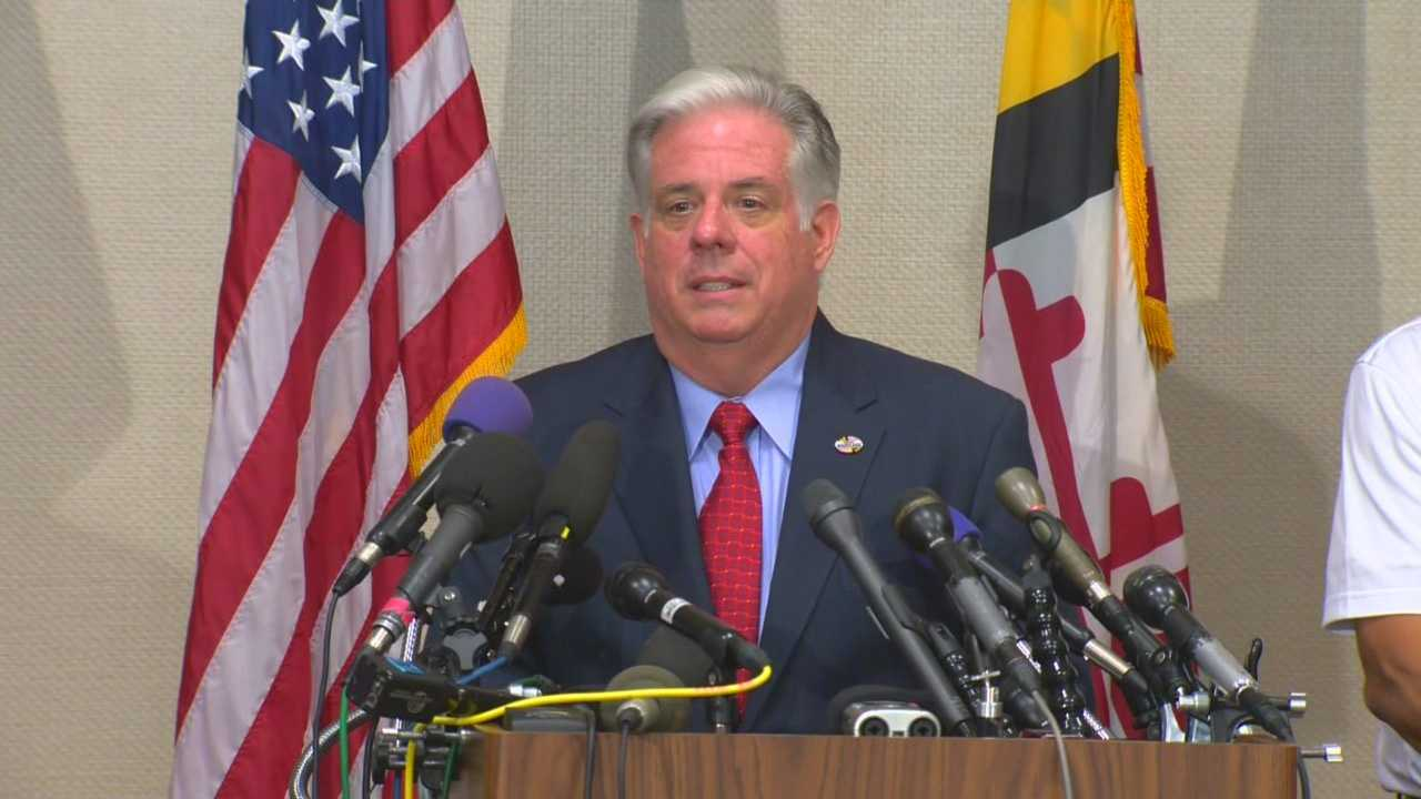Gov.-elect Larry Hogan announces his transition team and talks about his big win a day after he is elected governor.