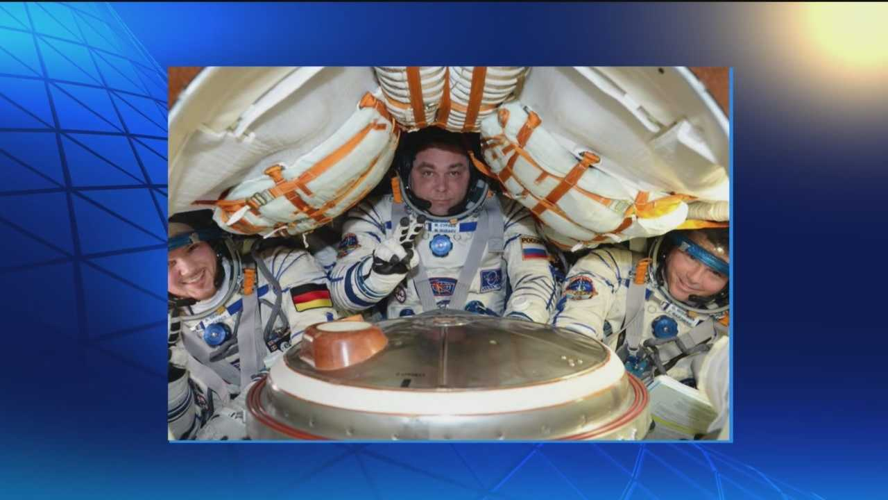 Local astronaut Reid Wiseman is back on planet Earth for the first time in six months.