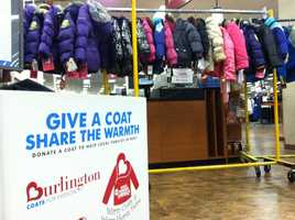 As winter approaches, people in the Baltimore community are making the impending cold much less threatening for hundreds of children by giving them brand new coats.