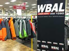WBAL-AM Radio is a proud sponsor of the coat drive.