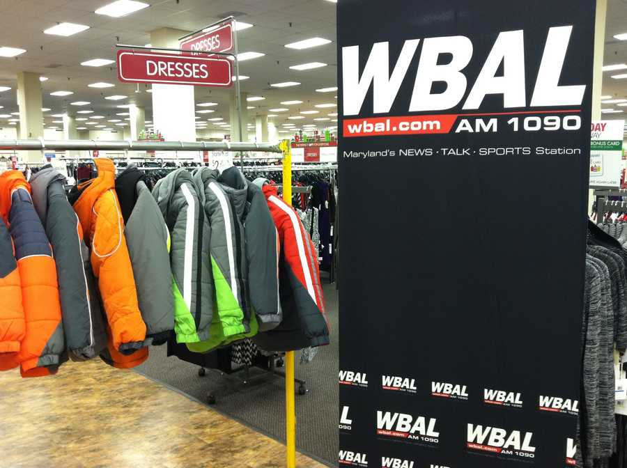WBAL-AM Radio is a proud sponsor of the coat drive.