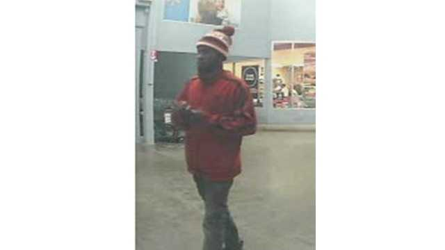 Sheriff's deputies say this man is one of two who stole iPads from the Walmart in Fallston.