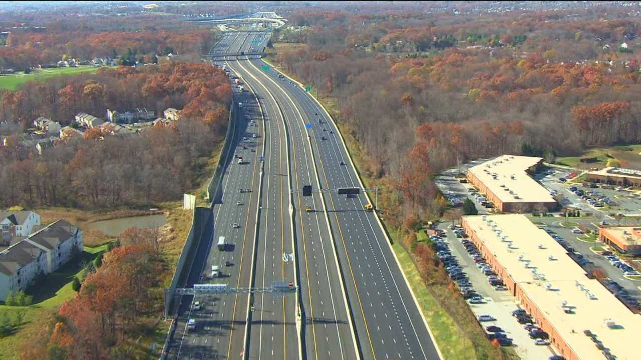 Take the new Interstate 95 express toll lanes for a spin for free Dec. 6-12.