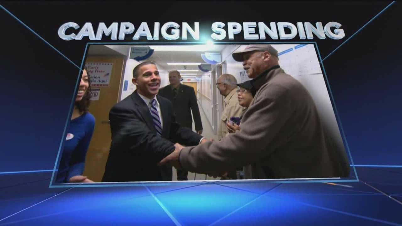 The final numbers are in for the November election -- not votes -- but dollars spent.
