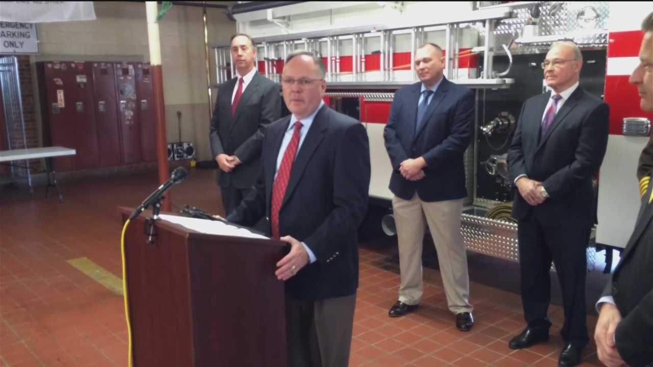 Anne Arundel County Executive-elect Steve Schuh on Thursday announced Capt. Tim Altomare and Capt. Allan Graves are his appointees to head the county police and fire departments.