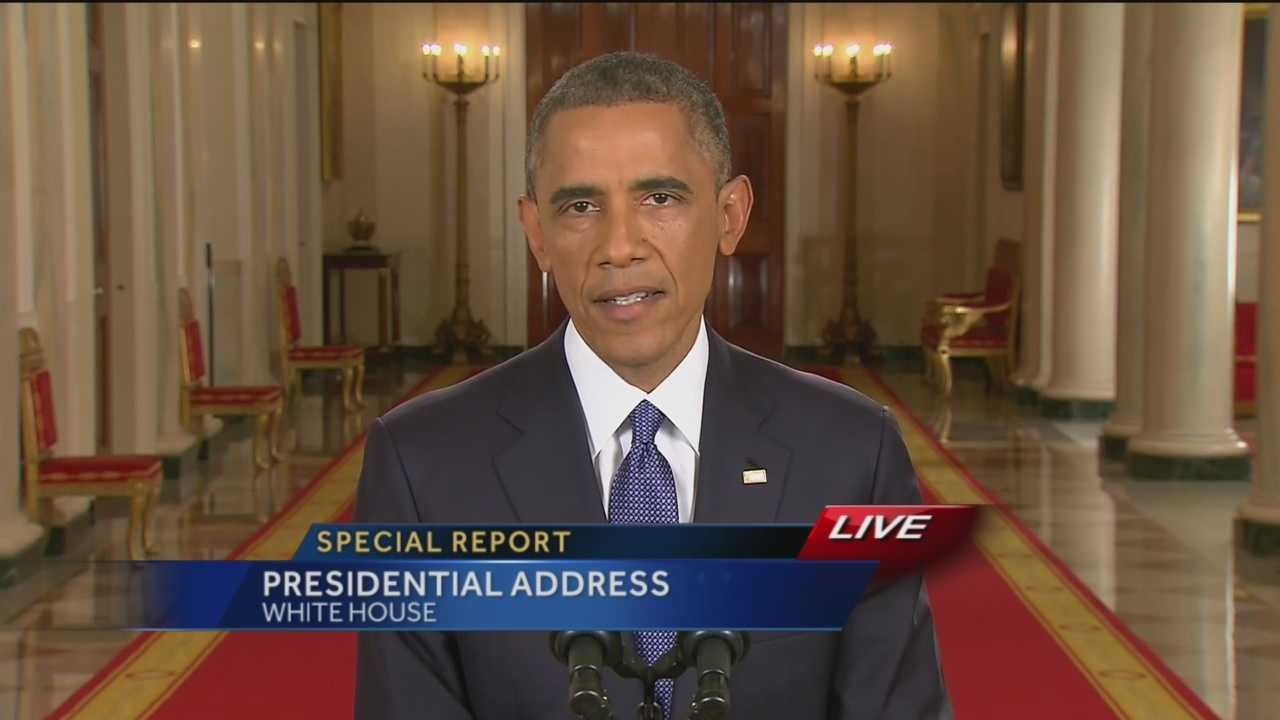 Watch the president's address on federal action on immigration in its entirety as it aired live on WBAL-TV 11.