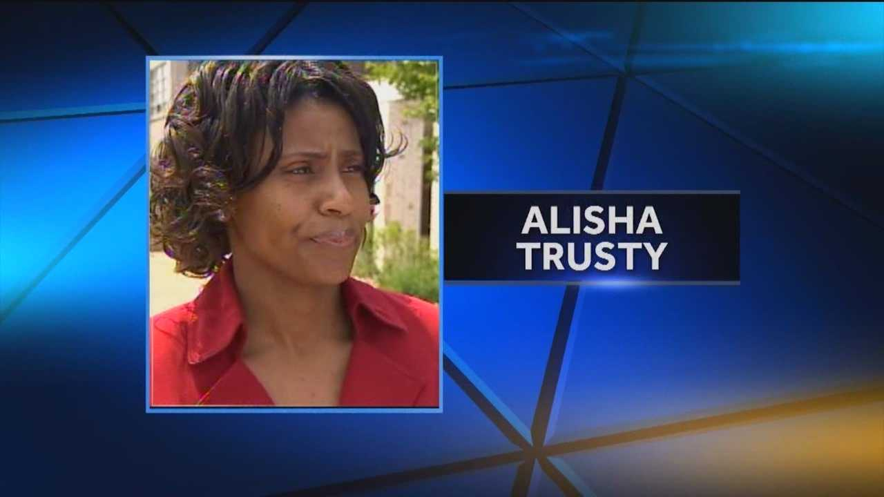 State Prosecutor Emmet C. Davitt on Monday announced that a grand jury has indicted former Western High School principal Alisha Trusty, 38, on 10 counts of felony theft and one count of misappropriation by a fiduciary.