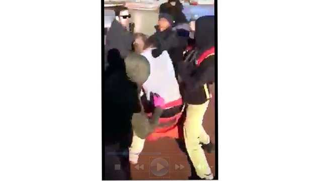 Several teens were caught on camera beating up another teen at the Inner Harbor.