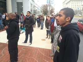 UB Ferguson protest